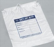 Respiratory Patient Set-Up Bag, 12